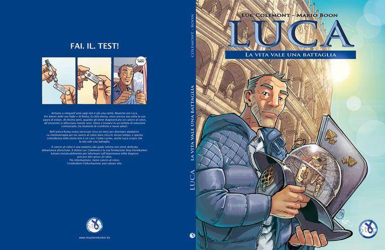 In Italië heet hoofdpersonage Dirk Luca.