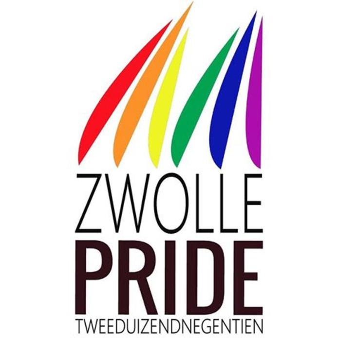 Het logo van Zwolle Pride 2019