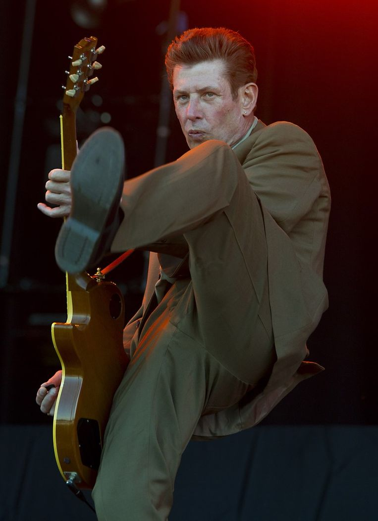 Roddy Radiation, gitarist van The Specials. Beeld anp