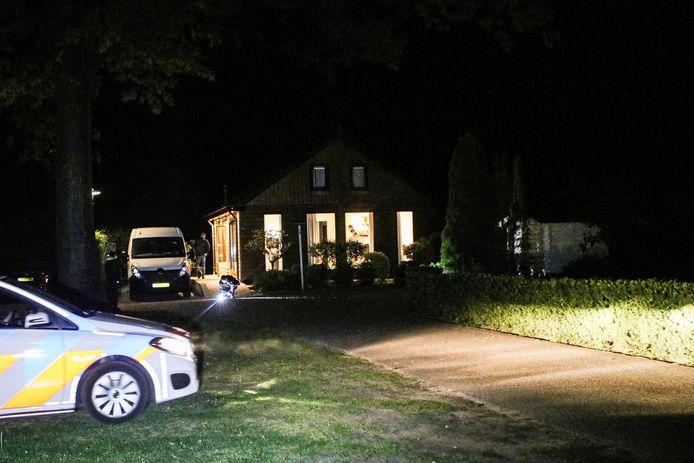 Het vakantiehuis in Ede, waar op 18 mei Toon R. werd gearresteerd