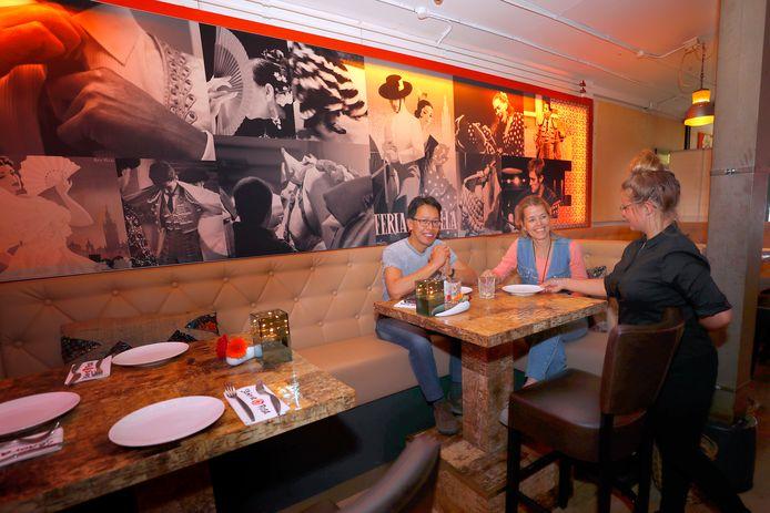 Het restaurant, in 2017.