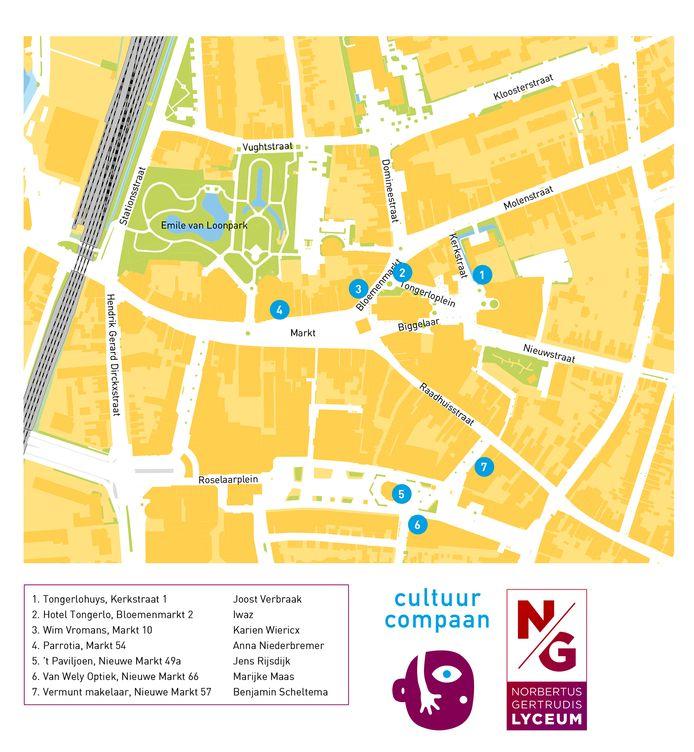 'Kunst op de Kaart' op zeven plaatsen in centrum Roosendaal