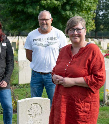 Verhalen van begraven Canadese militairen: 'In Canada dook zijn laatste brief op, geschreven in een loopgraaf'