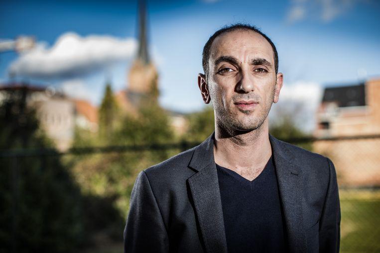 Ufuk Demirsoy, uit Beringen, is op zoek naar een appartement in Ankara. Beeld Bob Van Mol
