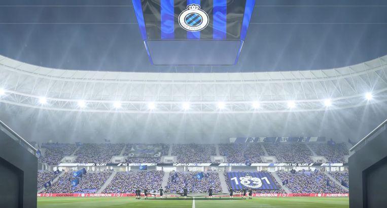 Bij het ambitieuze Club Brugge dromen ze van een nieuw stadion. Beeld studio-alma.fr