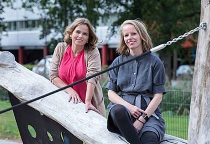 Jeugdpsychiaters Renate Floor-Siebelink (links) en Nicole Becking (rechts).