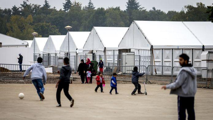 De asielopvang in Heumensoord