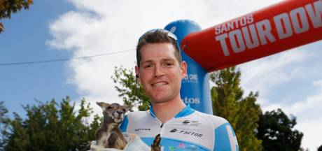 Hermans loopt botbreuken op na harde val Tour Down Under