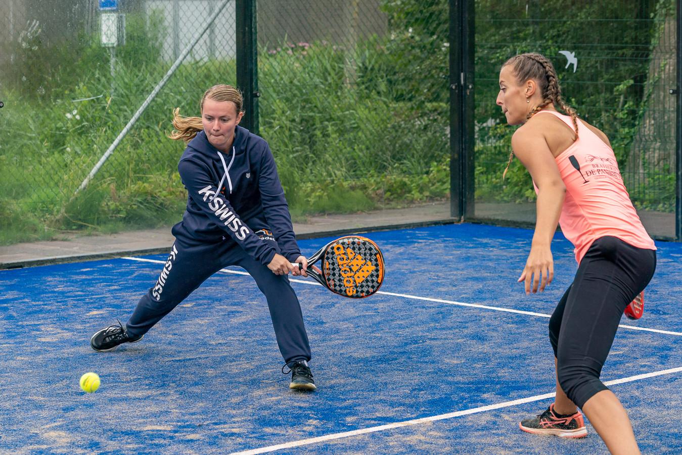 In Scharendijke wordt - net als in Breskens - al padel gespeeld. In Goes kan dat vanaf komende zomer ook.