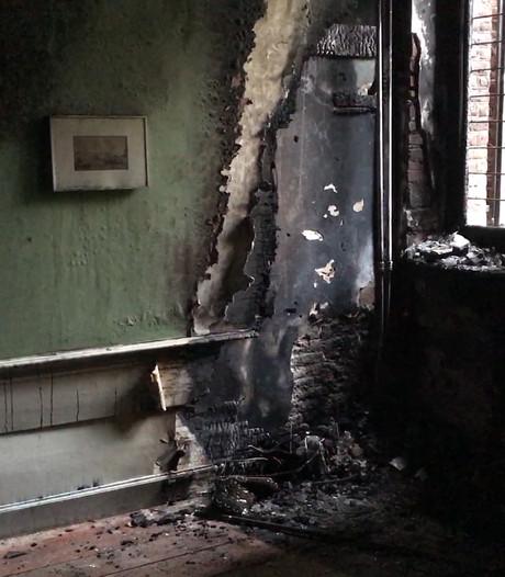 Zo ziet de enorme schade in het Stedelijk Museum in Zwolle eruit