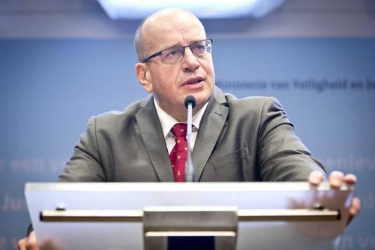 Staatssecretaris Teeven.