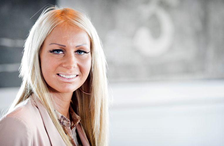 Samantha de Jong , beter bekend als Barbie.  Beeld ANP Kippa