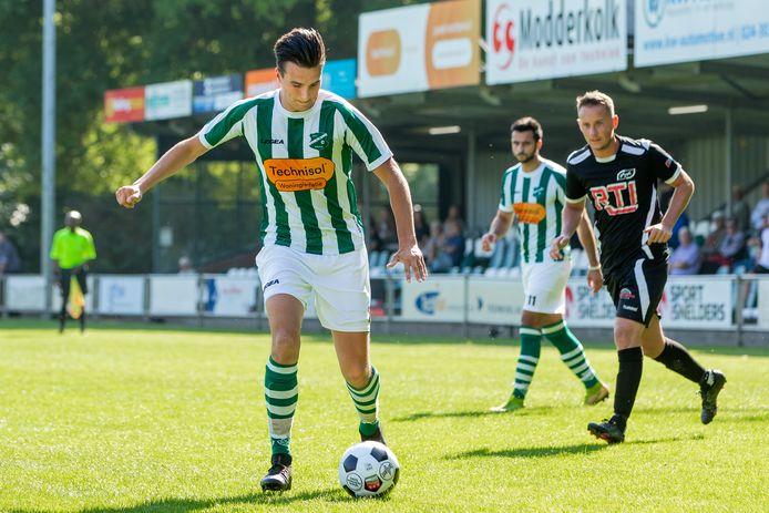 AWC kon na ruim een half uur spelen terug naar Wijchen.