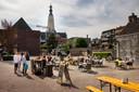 Publieke Werken mag een terras neerzetten op het Stadserf.