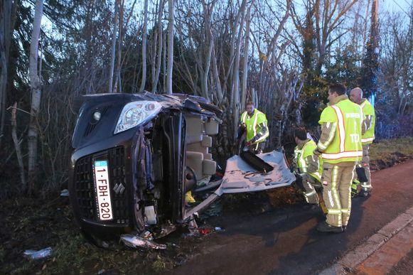 Op de Tiensesteenweg gebeurde in december nog een ongeval. In 2018 waren er slechts 36 waarvan 26 met stoffelijke schade