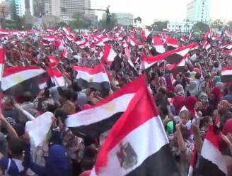 Aanhangers al-Sisi vieren uitslag