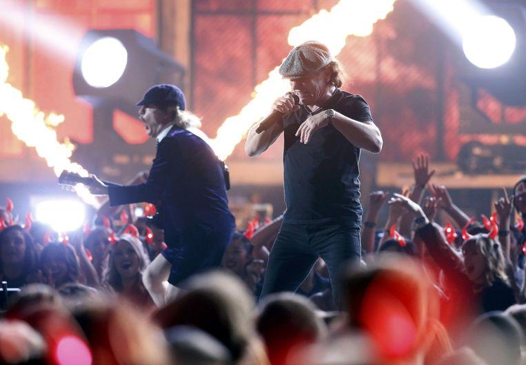 AC/DC trok de Grammy's op gang. Beeld REUTERS