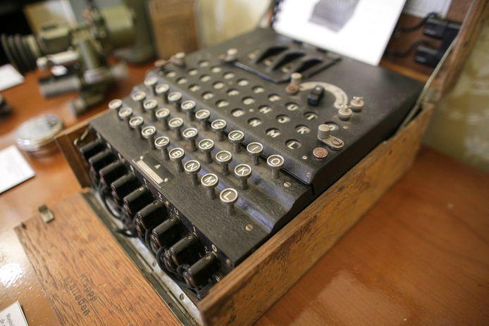 Een Enigma-codeermachine (archiefbeeld).
