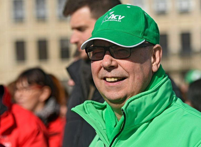ACV-voorzitter Marc Leemans. Beeld Photo News