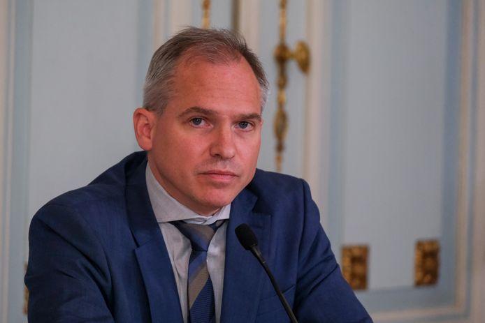 Vlaams minister van Begroting Matthias Diependaele.