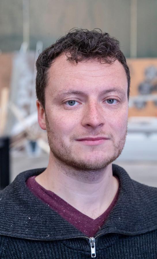 Ruben Spoormans werkte voor de coronacrisis in de horeca.