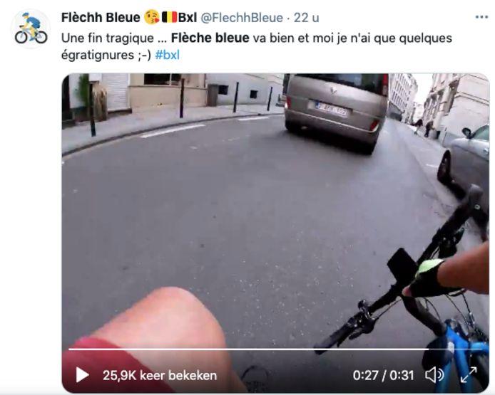 Een screenshot uit het filmpje.