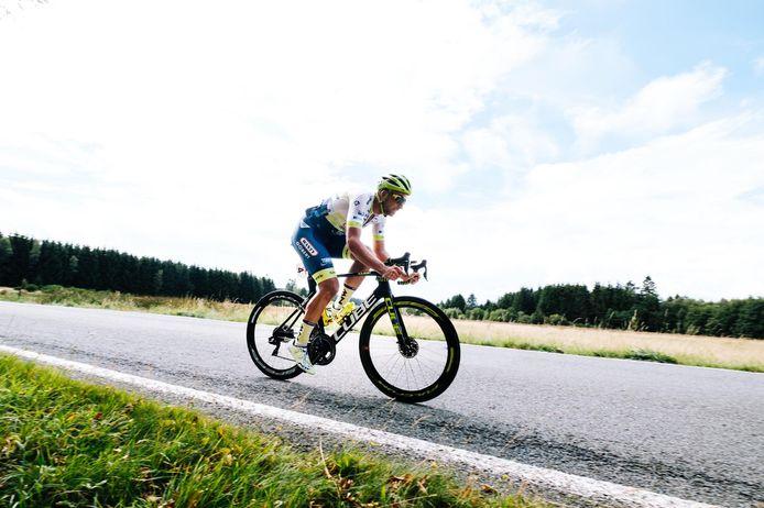Comme son équipe, Circus-Wanty Gobert, Ludwig De Winter découvrira la Division 1 du cyclisme l'an prochain.