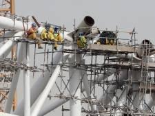'Voorbereiding WK 2022 in Qatar: al minstens 6500 arbeidsmigranten omgekomen'