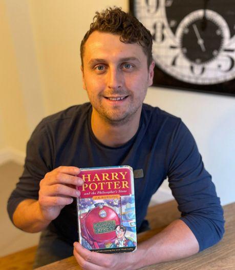 Une rare première édition d'Harry Potter vendue pour près de 33.000 euros par... Harry Potter