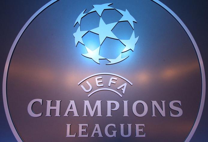 Het logo van de Champions League.