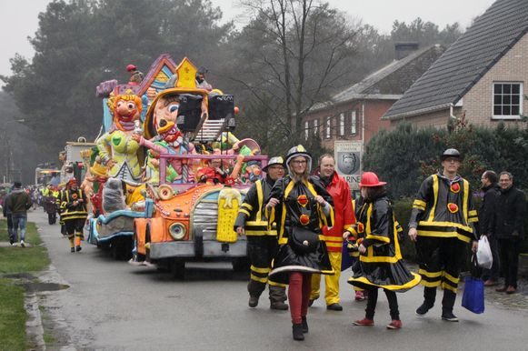 De carnavalsstoet van de Heiknuiters gaat niet door.