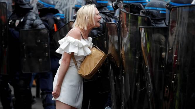 Tientallen arrestaties bij Franse demonstraties tegen coronapas