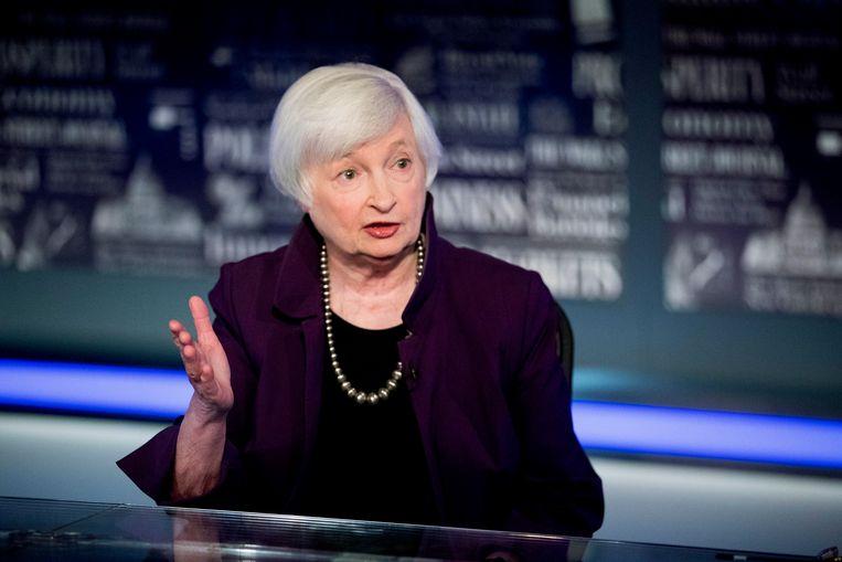 Janet Yellen is voorgedragen als minister van financiën onder Joe Biden. Beeld AP