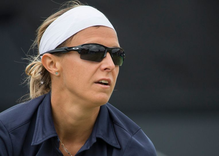 Tennisspeelster Kirsten Flipkens.  Beeld Photo News
