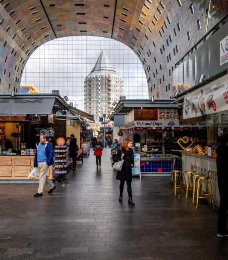Onrust in de Markthal door leegstand: 'Het lijkt alleen maar erger te worden'