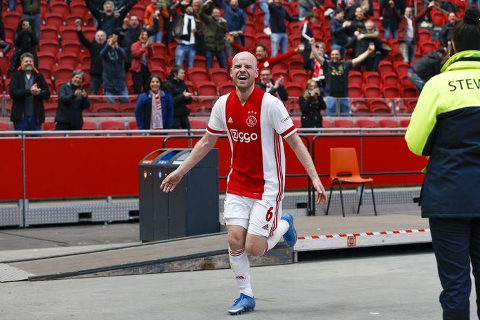 Ajax zette vorige week een grote stap richting het kampioenschap door AZ met 2-0 te verslaan. Davy Klaassen tekende voor beide goals.