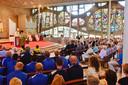 Tijdens het 75-jarige jubileum van RKC werd er onder andere een mis gehouden in de Waalwijkse Antoniuskerk