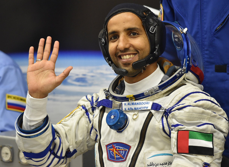 Hazza al-Mansouri was twee jaar geleden de eerste Emirati die de ruimte werd ingeschoten.