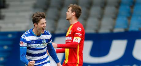 Van twaalfde man tot golden boy bij De Graafschap: Schuurman verbaast vriend en vijand met cruciale goals