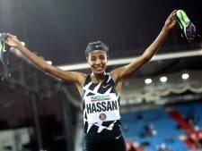 Sifan Hassan wint 5000 meter in Ostrava
