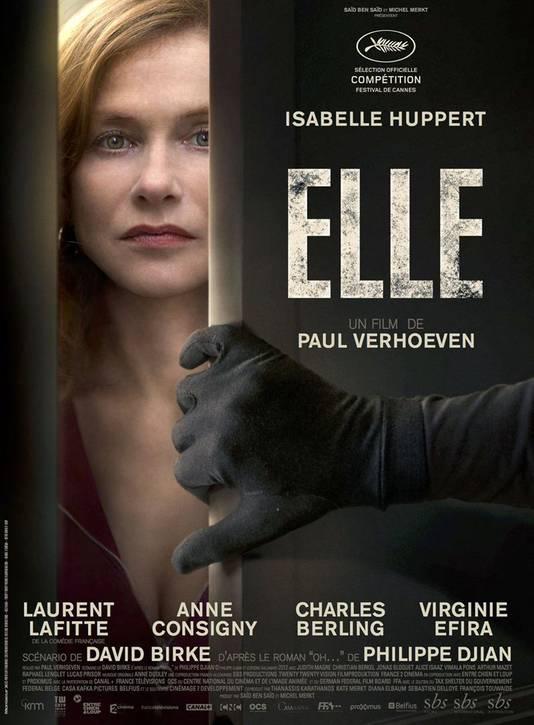 """Dans un autre genre, Virginie Efira sera à l'affiche de """"Elle"""", le nouveau film du réalisateur de """"Basic Instinct""""."""