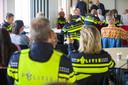 Politieagenten voerden in september vorig jaar al actie voor een betere pensioenregeling.