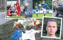 Op de plek van het ongeluk in Arnhem is een eerbetoon ontstaan voor Paco Geutjes, die voetbalde voor onder meer De Graafschap, JVC en RKHVV.