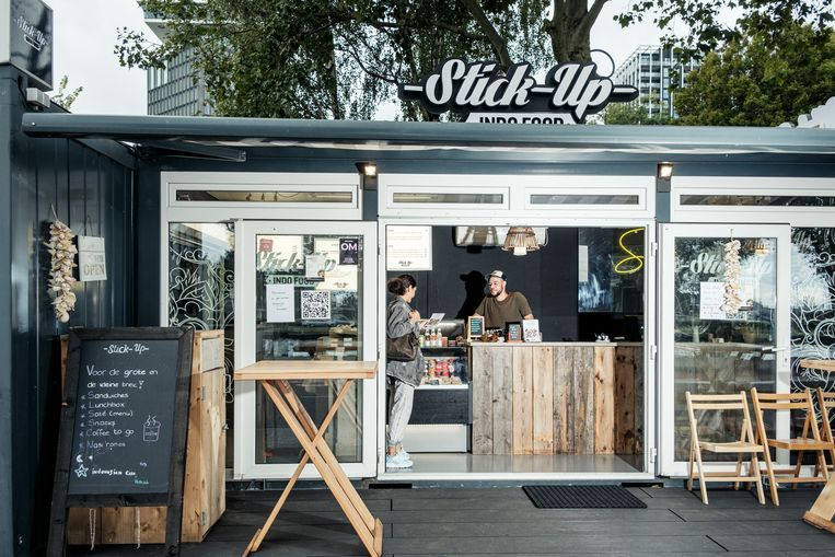 Stick-up Indofood Beeld Jakob Van Vliet