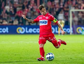 """Aanvoerder Kristof D'Haene (KV Kortrijk) is teleurgesteld in Luka Elsner, maar begrijpt zijn beslissing: """"De trein passeert soms maar één keer"""""""