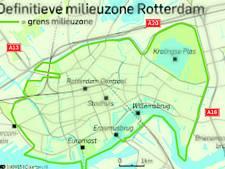 Automobilist kan checken of hij Rotterdam nog in mag