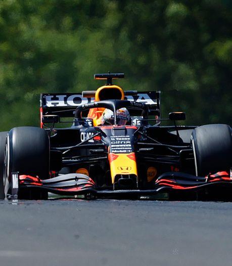Herstelde Verstappen begint in Hongarije met snelste tijd