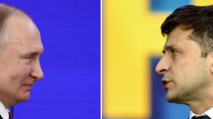 Poetin en Zelenski morgen voor het eerst in gesprek over conflict in Oekraïne