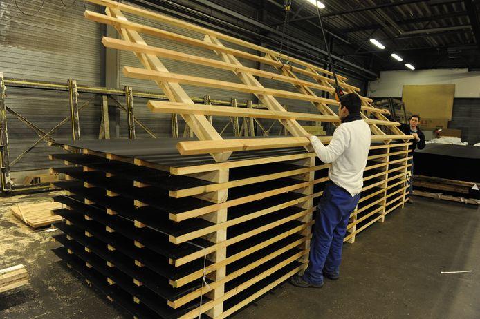 Foresco Packaging in Genk, een van de zes vestigingen van de Vlaamse groep.