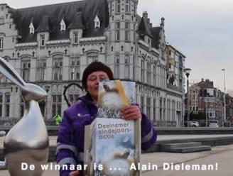 Stad maakt winnaars eindejaarsactie bekend in filmpje